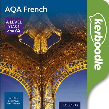 libro aqa a level french includes kerboodle store education umbrella