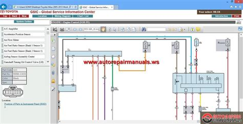 gsic toyota hilux 2005 2013 workshop manual auto repair