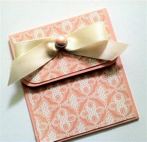 Gift Card Holder For Wedding - elegant gift card holder peach gift card holder wedding anniversary birthday gift