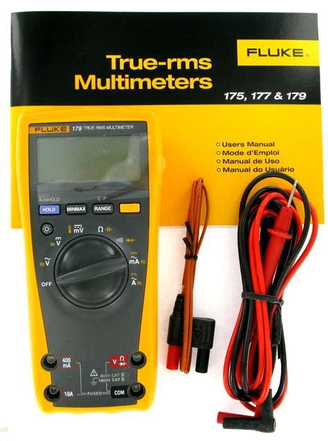 Multimeter Fluke 179 new fluke 179 true rms digital multimeter with 80bk