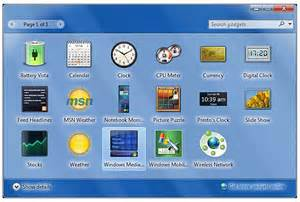 top useful desktop gadgets for windows 7 ecolumns