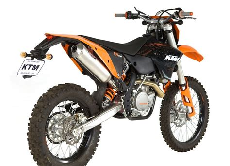 Ktm 530 Exhaust Bos Performance Silencer For Ktm Enduro Bikes Mcn