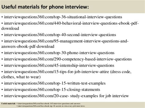 top 10 phone questions and answers