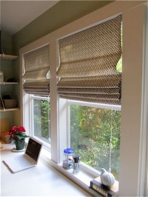 Mini Blinds And Shades Diy Shades From Mini Blinds Simply Mrs Edwards
