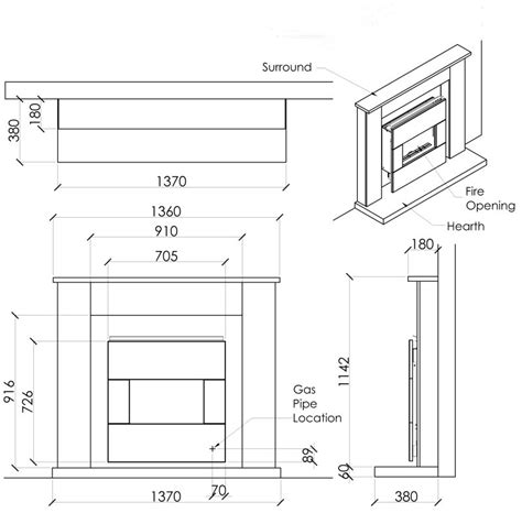 Dimensions Of Fireplace by Modern Fireplace Dimensions Brucall