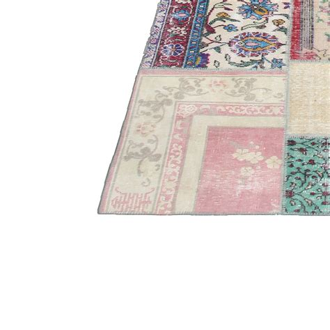 Vintage Patchwork - various vintage patchwork rug 406x304cm