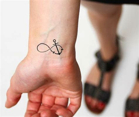 small infinity tattoos 42 anchor infinity symbol tattoos