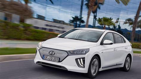Hyundai Electric Car 2020 by 2020 Hyundai Ioniq Electric Gets More Range And Power