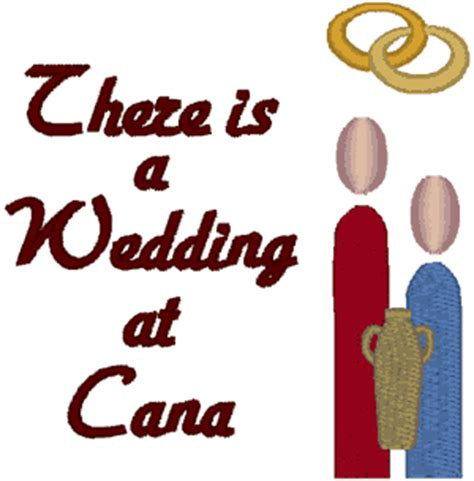 Wedding At Cana Free Clipart by Wedding At Can A Jesus Clipart