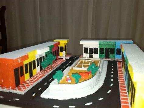 imagenes de maquetas escolares maquetas escolares el barrio trabajos escolares pinterest