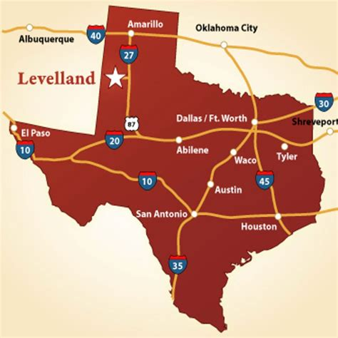 levelland texas map location transportation levelland economic development
