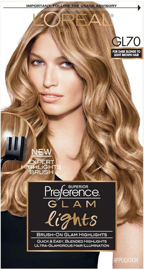 salon style hair color  home