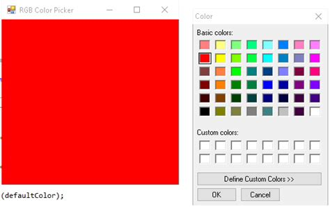 rgb color picker rgb color picker and c sharp arduino learning