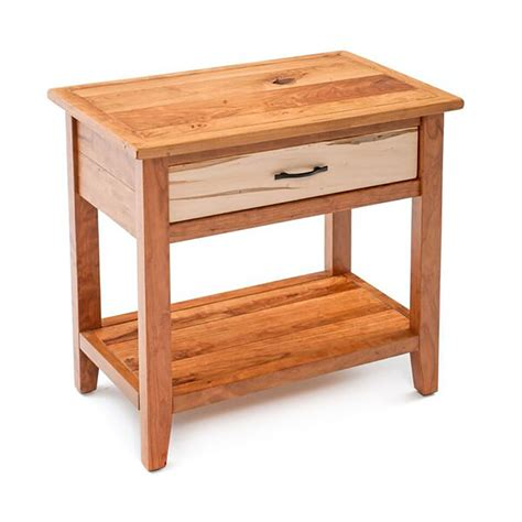 maple night stands bedroom denver 1 drawer nightstand maple cherry mix solids