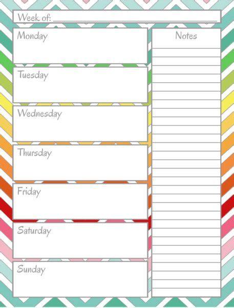 organizational calendar template home management binder weekly calendar sweet home
