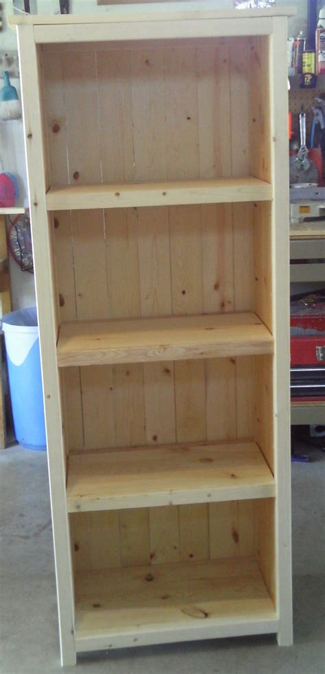 Kreg Jig Bookcase Plans kreg jig bookshelf woodworking projects plans