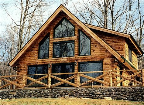 Country Log Cabins by Adirondack Country Log Homes