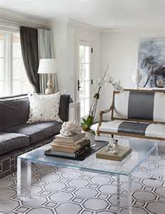 Gray Living Room Tables Acrylic Coffee Table Design Ideas