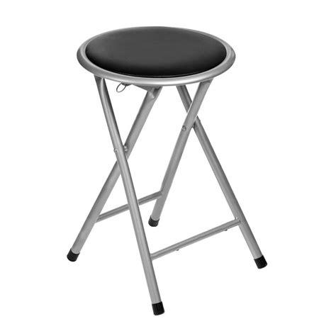 soft padded seat  folding stool foldable chair kitchen lounge stools ebay
