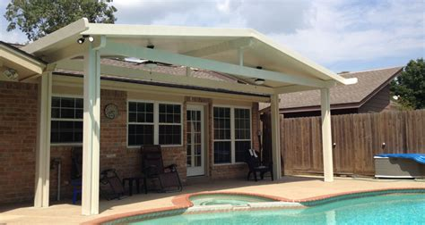 metal awnings houston american awning of texas aluminum patio covers