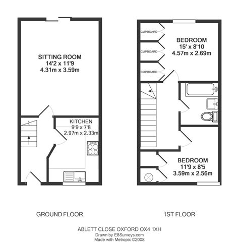 floor plans for houses uk ablett close east oxford ox4 ref 25133 oxford east