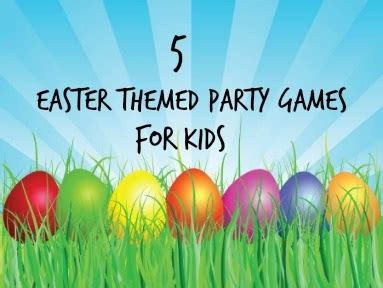 easter games new easter party games and activities for kids in 2015