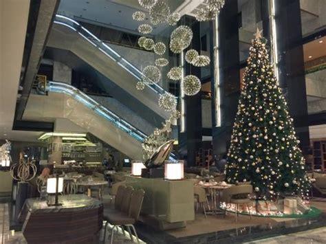 hotel lobby christmas decorations hotel lobby decoration picture of renaissance shanghai yangtze hotel shanghai