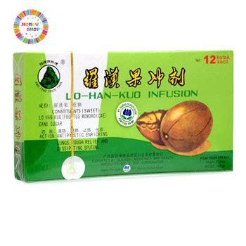 Lo Han Kou Infusion jual lo han kuo infusion obat panas dalam batuk honey shop s