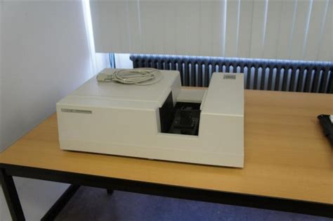 hp 8452a diode array spectrophotometer hewlett packard 8452a uv vis spectrophotometer industri 235 le veiling eindhoven b v
