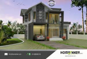 home design for 4 cent modern contemporary house plan in 4 cent plot luxury