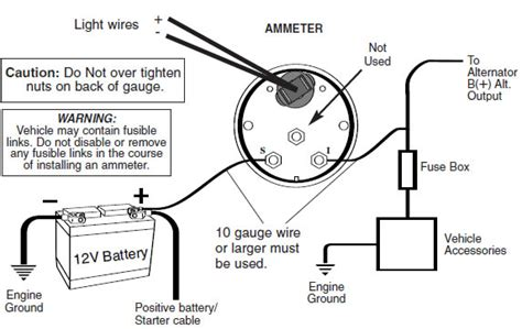 sunpro voltmeter wiring diagram netami air fuel