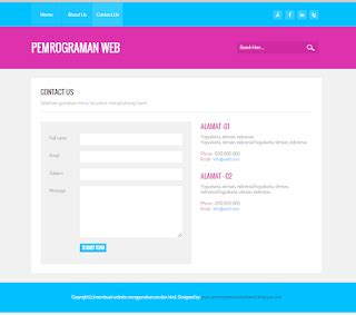 cara membuat website html dan css cara membuat website menggunakan html dan css