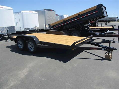 flat bed trailers for sale 2017 tnt flatbed trailer for sale rigby id 8766501