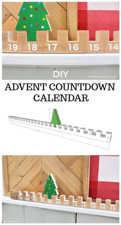 easy advent countdown calendar holidays christmas