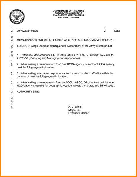 army memo for record template 11 memorandum for record army exle invoice exle