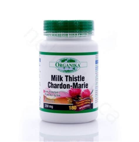 Does Milk Thistle Detox Drugs by Milk Thistle By Organika For Liver Protection