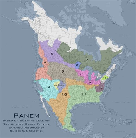 map of panem hunger hunger the most accurate maps of panem artifacting