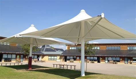 Umbrella Awning by Great Dunmow Primary School Great Dunmow Umbrella