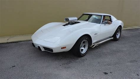 Sell Used 1975 Chevrolet Corvette Stingray Coupe T Tops Restored In Elkhart Indiana United 1975 Chevrolet Corvette Stingray T Top 350 V8 Supercharger Blower 500 Hp Classic