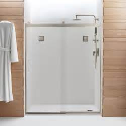 levity shower door by kohler modern bathroom other
