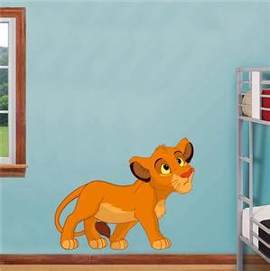 lion king home decor simba lion king decal removable graphic wall sticker home