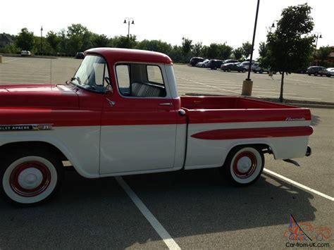 1959 chevrolet apache 31 fleetside bed up truck