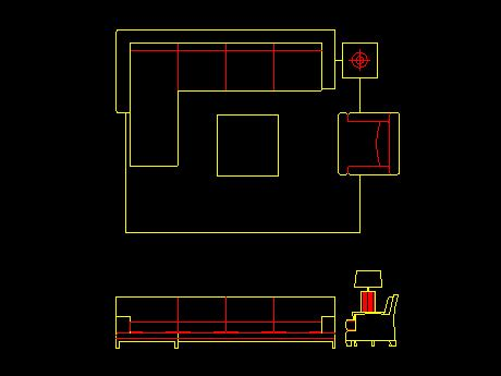 living room layout autocad blocks lounge furniture dwg home decoration club