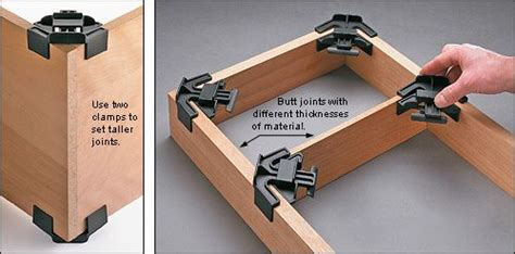 angle assembly clamps woodworking wood shop