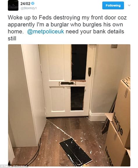 home daily mail stormzy has his chelsea home mistakenly raided by