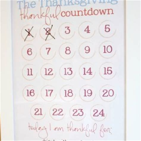 printable calendar countdown printable thanksgiving countdown calendar thanksgiving