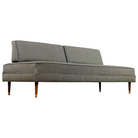 Mid Century Modern Daybed Restored Mid Century Modern Daybed Sofa For Sale At 1stdibs