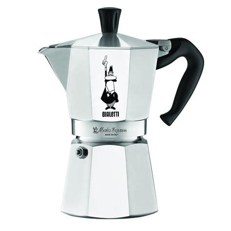 espresso maker bialetti bialetti moka express 6 cup stovetop espresso maker