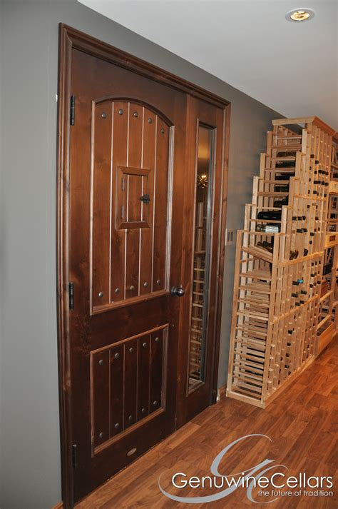 custom wine cellar doors genuwine cellars - Wine Cellar Doors