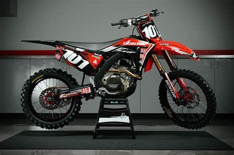 honda motocross 2018 honda crf 250 450 graphic kits customize your own